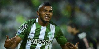 Miguel Borja no Palmeiras