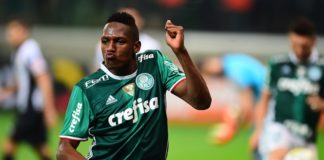 Yerry Mina do Palmeiras