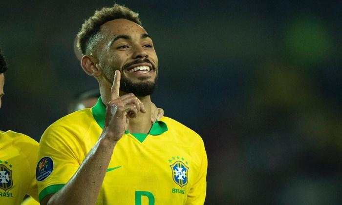 Inter de Milão confirma o interesse no atacante Matheus Cunha